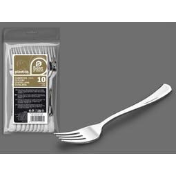 S/10 TENEDOR GRANDE PLATA REUTILIZABLE 18,50 CM